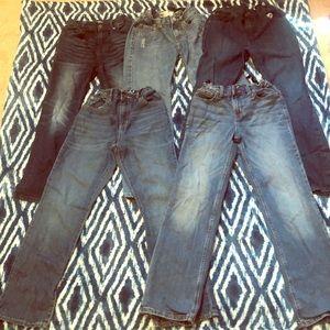 Bundle of boys jeans, size 12..good condition